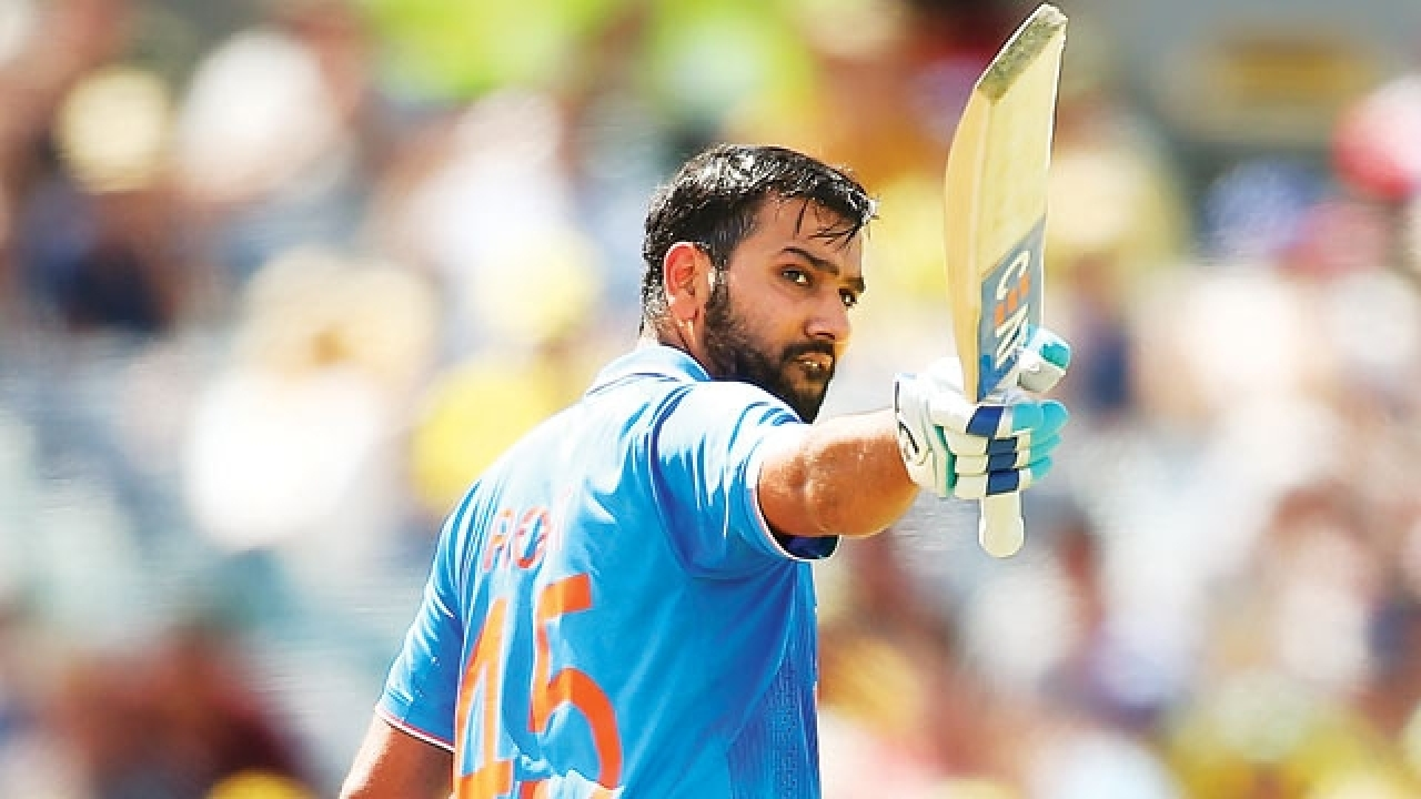 Indian Cricketer Rohit Sharma Slams Third Double Hundreds In ODI, Breaks Own Record