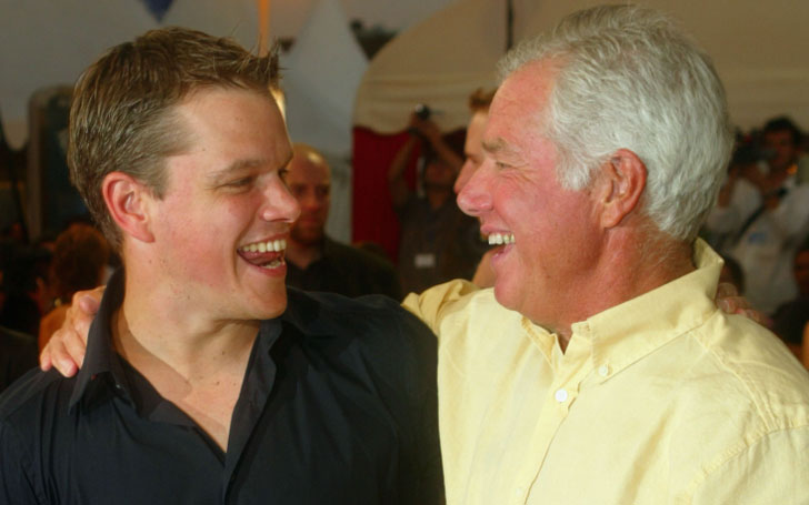 Matt Damon's Dad Kent Damon Passes Away At 74