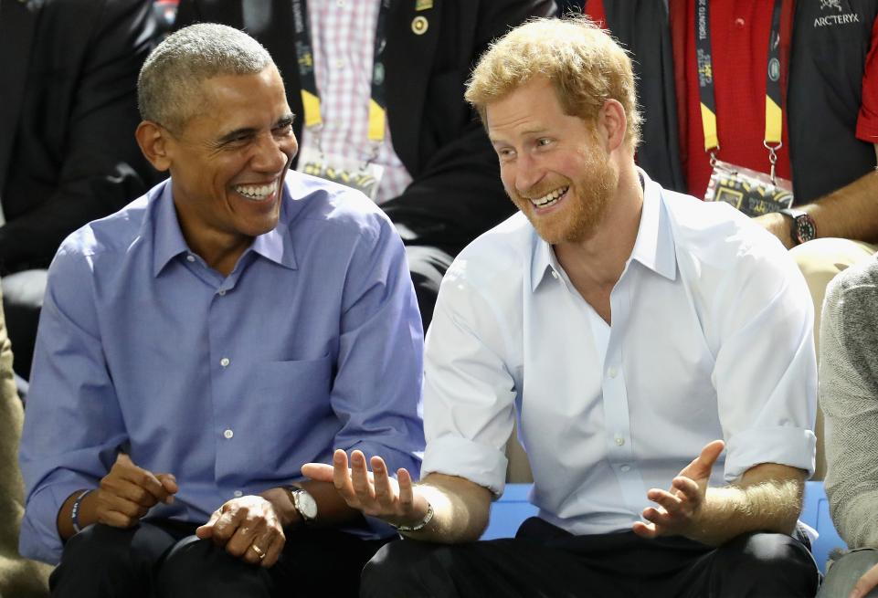 The U.K. Government Worries Prince Harry Will Invite Obama To His Wedding