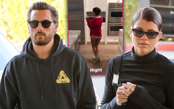 Scott Disick And Sofia Richie's Romantic Christmas Eve Date - Spotted Outside A McDonald