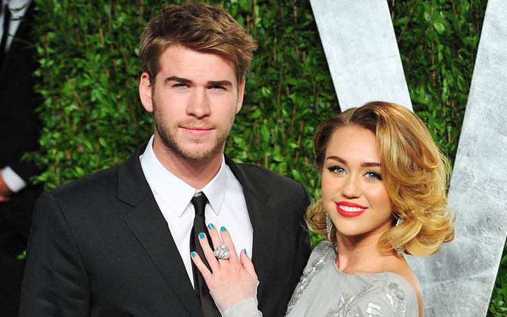 Miley Cyrus Leaves Fiance Liam Hemsworth At Home-Joins Future Sister-In-Law For New Year Shopping