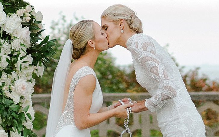 The Newly Married Couple: Elena Delle Donne and Amanda Clifton; Details Of Their Relationship.