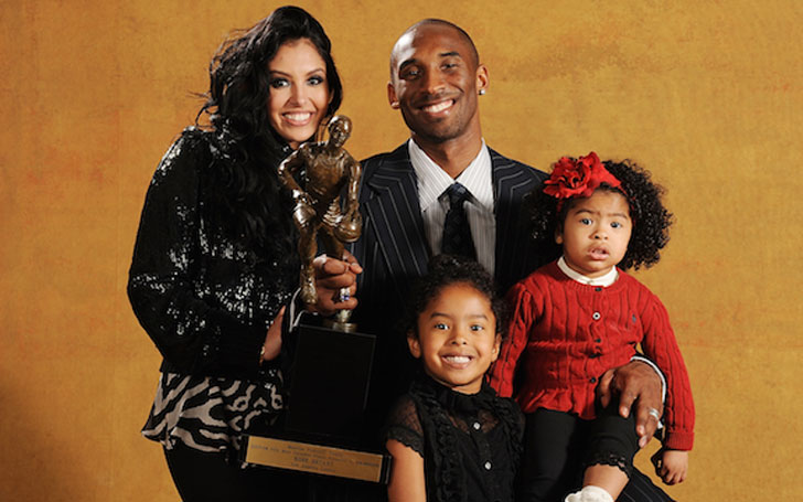 Former Basketball Player Kobe Bryant's Married Life with Wife of seventeen years Vanessa Bryant; Shares three Children together