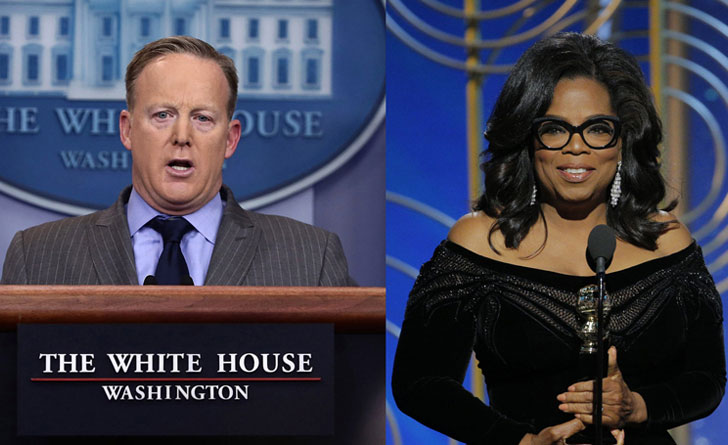 'Oprah Winfrey Doesn't Have Political Experience To Be President': Sean Spicer