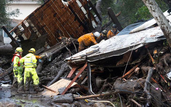 At least 13 Killed And 25 Injured In Southern California Mudslides