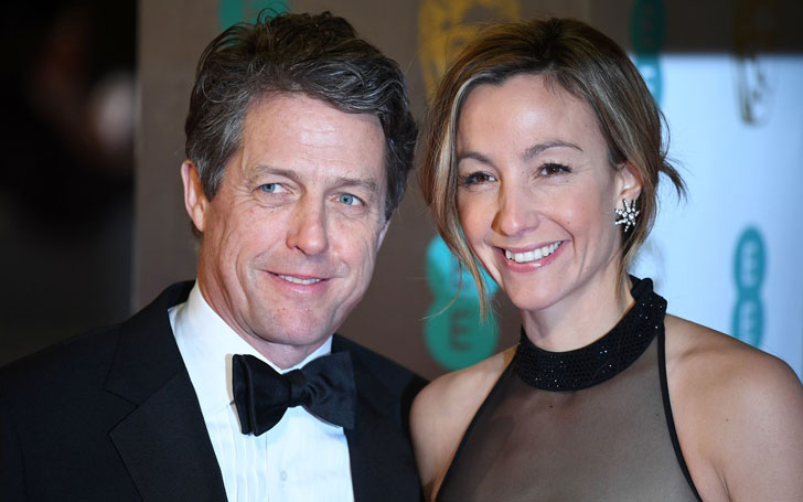 Hugh Grant Expecting Fifth Child With Girlfriend Anna Eberstein