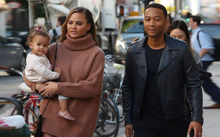 Is the rumor of Chrissy Teigen being pregnant with John Legend's second child true ?