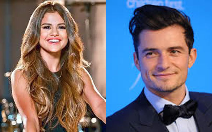 Orlando Bloom spotted with Selena Gomez in a nightclub, at Las Vegas