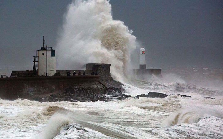 Storm Fionn Devastating United Kingdom