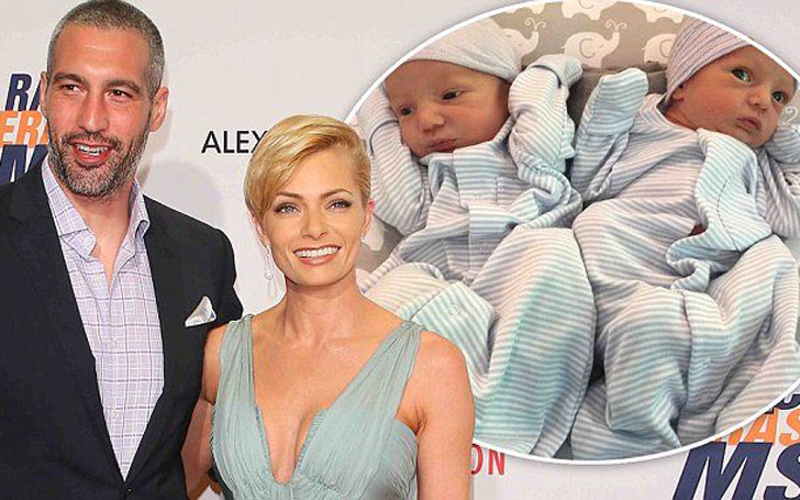 Surprise!!! American Actress Jaime Pressly Welcomed Twin Sons With Hamzi Hijazi