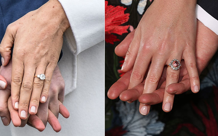 Princess Eugenie's Engagement Ring Is Double The Price Of Prince Harry's Fiance Meghan Markle