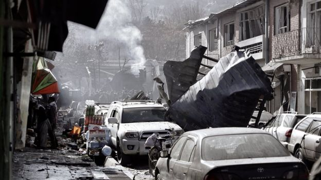 Ambulance Bomb Kills 95 in Afghanistan Kabul, 158 Injured-Taliban Behind The Attack