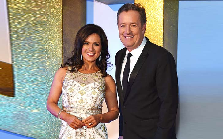 Good Morning Britain host Piers Morgan teases Susanna Reid about her Taste in Men after interviewing the Four Oarsmen