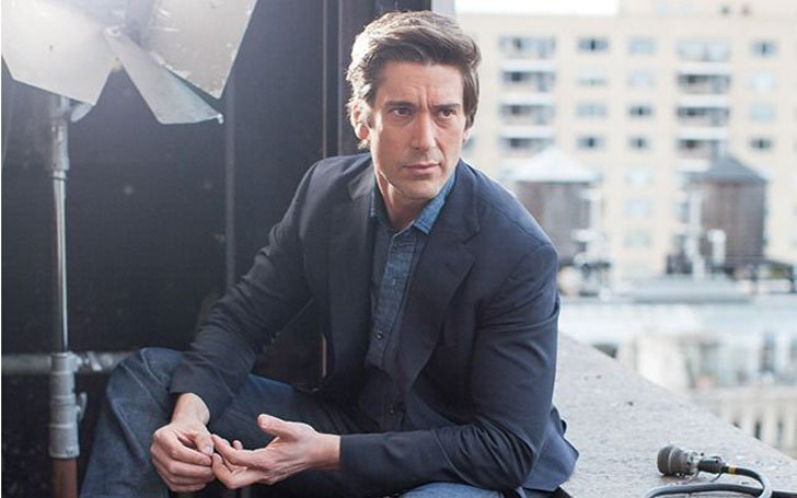 David Muir Shirtless Photo FAKE or REAL