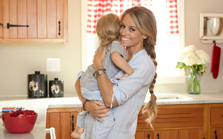 Nicole Curtis and her second baby