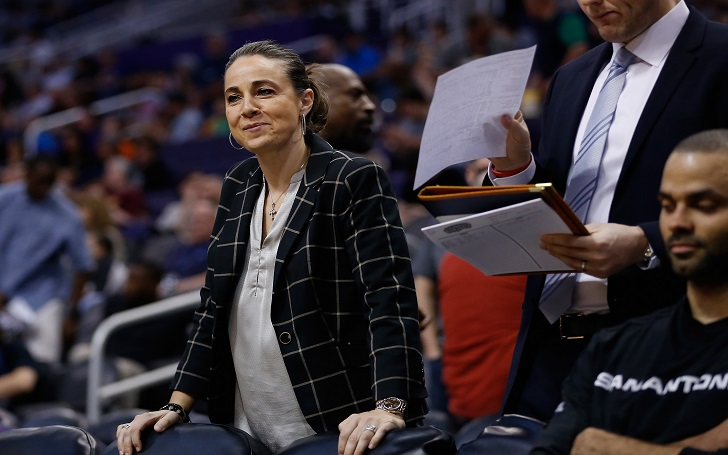 Retired WNBA Star Becky Hammon Makes It to The San Antonio Hall of Fame