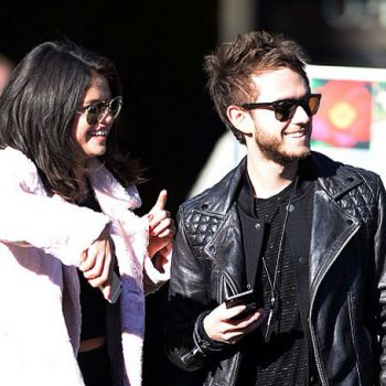 Justin's ex Selena and her new love Zedd