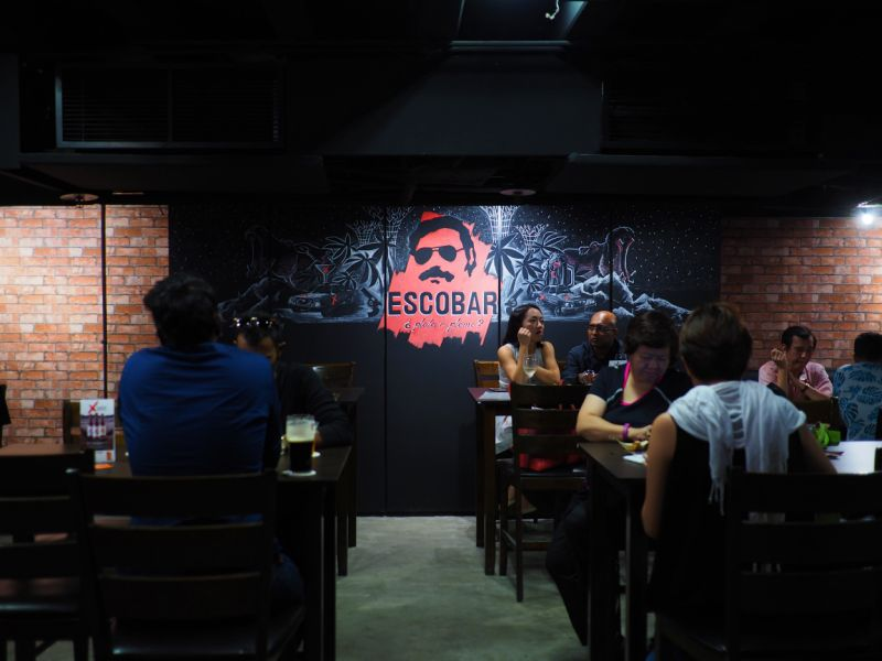 Colombian Embassy Writes To MFA Singapore Condemning a Bar Named After Drug Lord Pablo Escobar