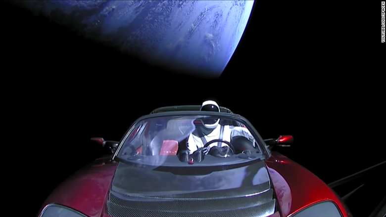 Elon Musk's Tesla Roadster Being Tracked by NASA
