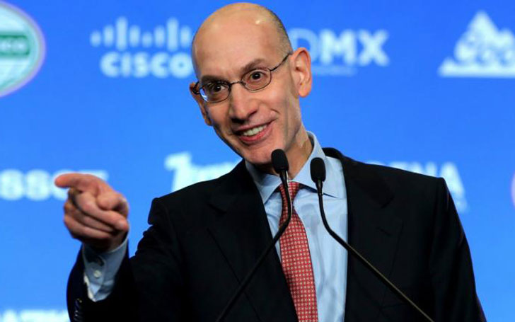 NBA Commissioner Adam Silver's Blissful Married life with Wife of three years Maggie Grise