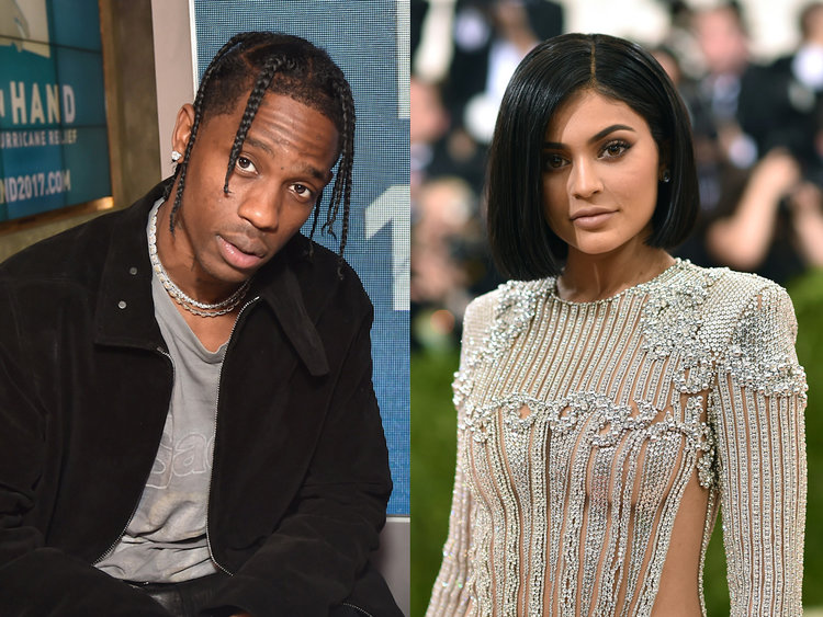 Travis Scott Posts a Picture with Kylie Jenner post Her Daughter, Stormi's Birth