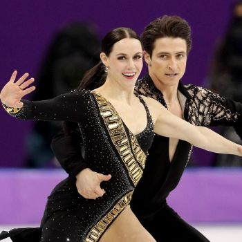 Fans Say Ice Dancers, Tessa Virtue and Scott Moir Are Dating. Read What the Olympians Have To Say