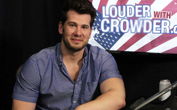 YouTuber Steven Crowder Talks Blissful Married Life With Wife Hilary Karzon,