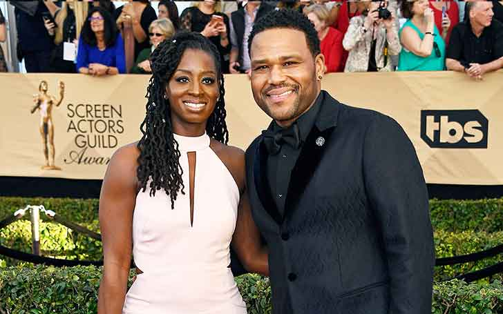 Once Almost Divorced Alvina Stewart  And Her Husband Anthony Anderson Living A Blissful Married Life
