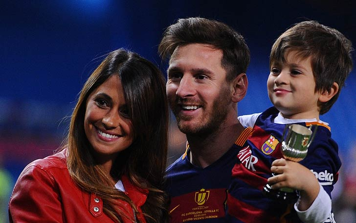 Argentine Football Star Lionel Messi Living Happy Married Life With Wife Antonella Roccuzzo And Three Children