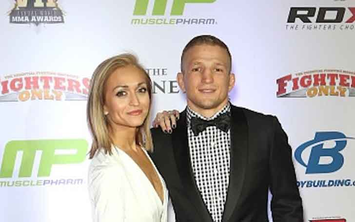 How Is Mixed Martial Artist, T.J. Dillashaw's Married Relationship With Wife Of Four Years, Rebecca Dillashaw?
