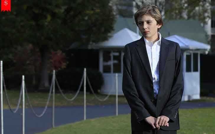 Barron Trump-The Youngest Son Of President Donald Trump And Wife Melania Trump-How Much Is His Net Worth?