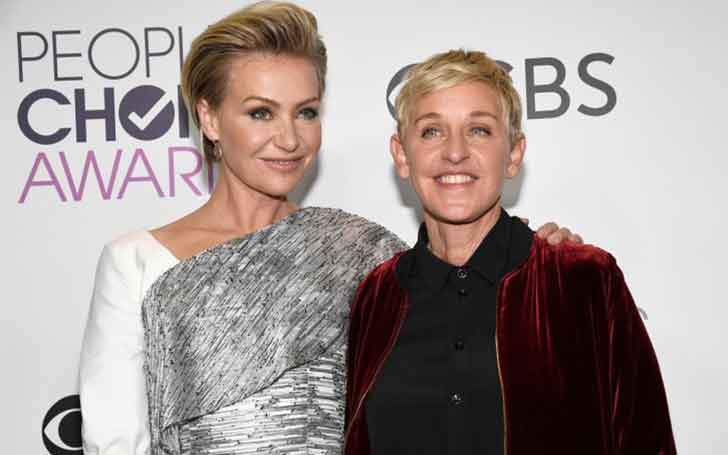 Portia de Rossi And Ellen DeGeneres Celebrate Tenth Wedding Anniversary-Details On Their Married Life