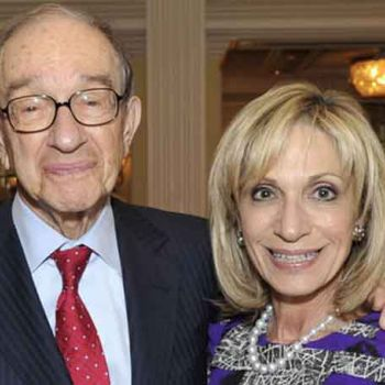 Andrea Mitchell And Her Husband Of Two-Decades Alan Greenspan, Despite The Obstacles, Are Living A Blissful Married Life-More Details Here!!!