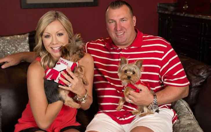How's Bret Bielema's Married Life With Wife Of Eight Years, Jennifer Hielsberg, Especially After The Arrival Of Their First Child?