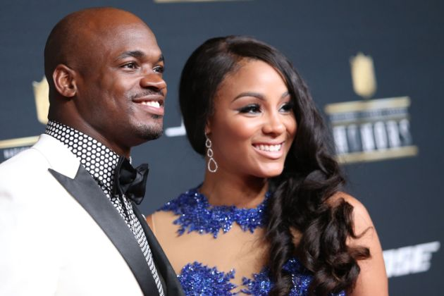 American Footballer Adrian Peterson Who Has Been Married To Wife Ashley Brown Since 2014 Has Fathered Six to Eight Children With Multiple Women-Know The Full Story Here