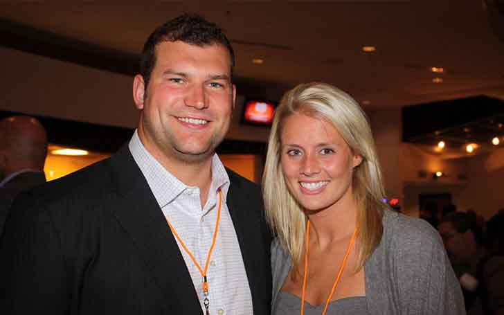 Witness The Beautiful Relationship Of American Football Player Joe Thomas And Wife Annie Thomas Here!!