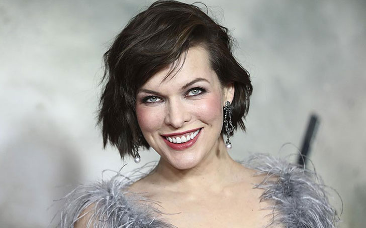 Ukranian-American Actress And Singer Milla Jovovich's Net Worth Is Staggering!! More Details Here