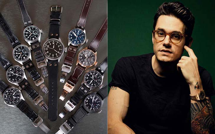 A Closer Look At John Mayer's Watch Collection