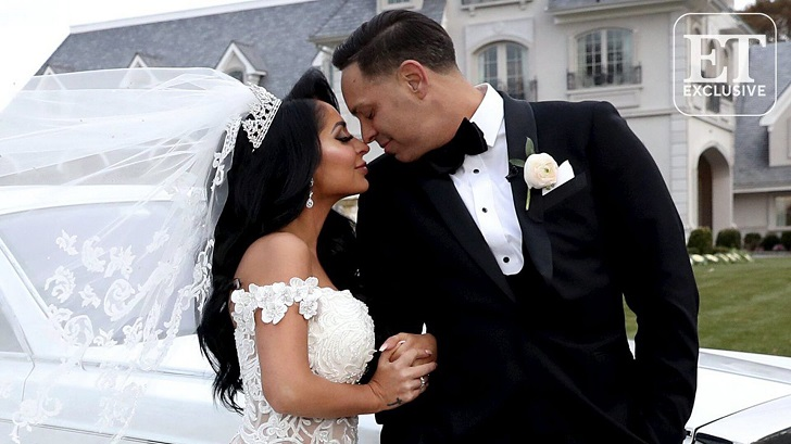 Newly Married Couple Alert: Angelina Pivarnick And Chris Larangeira Tied The Knot in East Brunswick