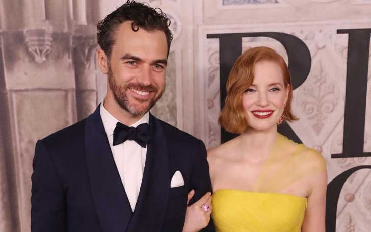 'Interstellar' Actress Jessica Chastain Gives Birth To First Child With Husband Gian Luca Passi de Preposulo