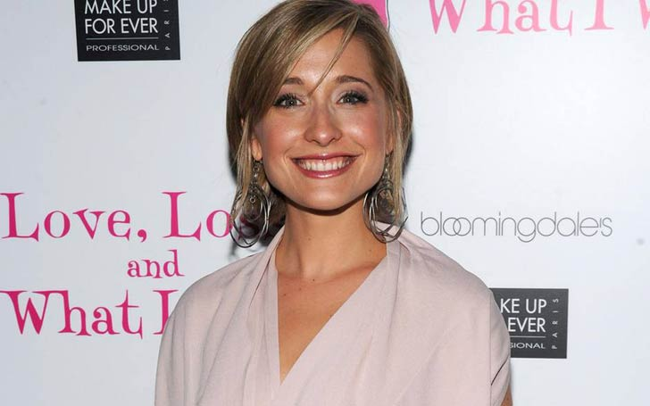 'Smallville' Actress Allison Mack Arrested For Her Alleged Role In Sex Trafficking