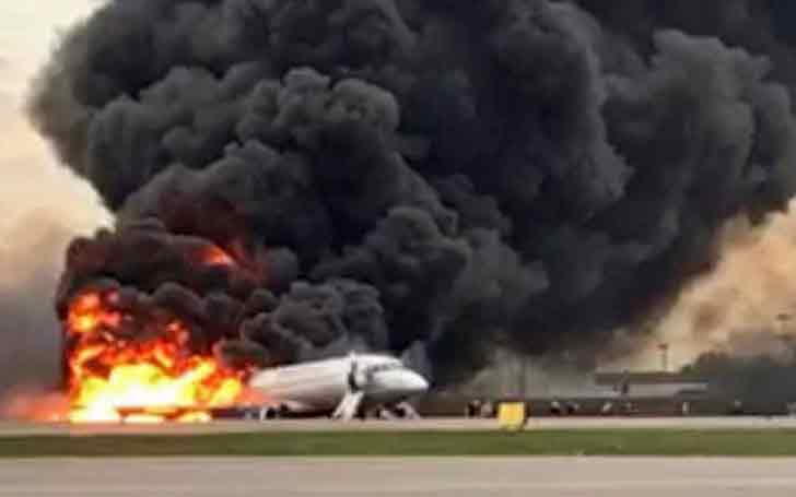 41 People Died After An Aeroflot Caught Fire During Emergency Landing At Moscow Airport