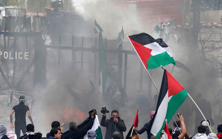 59 Palestinians Killed By Israeli Gunfire At Border During A US Embassy Protests