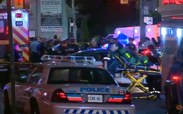A Woman Killed And 13 Other Injured In A Danforth Avenue Shooting In Toronto