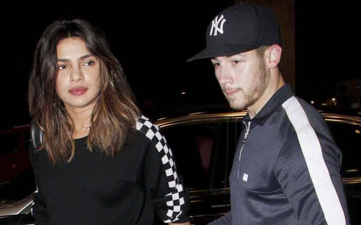 Actress Priyanka Chopra And Beau Nick Jonas Enjoy Night Out With Joe Jonas And Sophie Turner