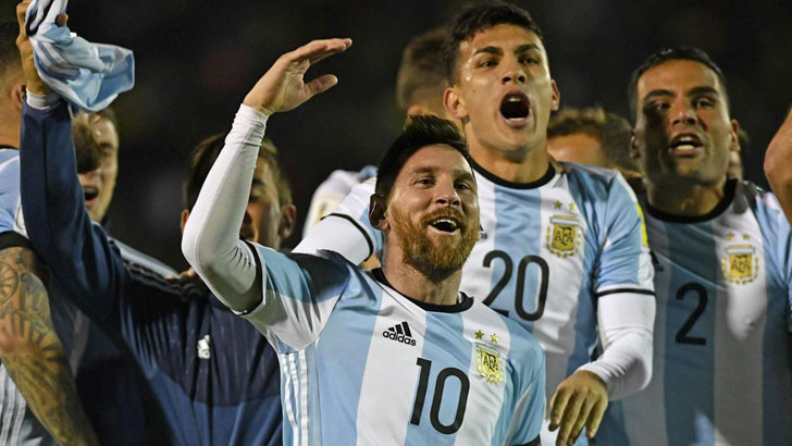 Argentina's 23-man squad revealed!!! Messi and Aguero in Argetine squad but not Icardi
