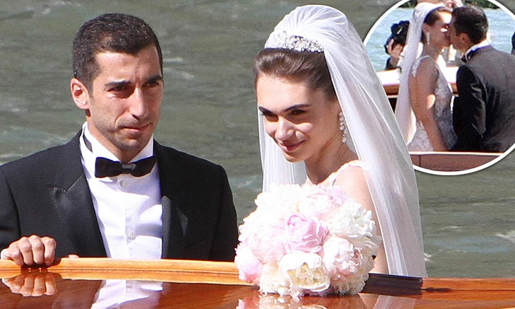 Arsenal Midfielder Henrikh Mkhitaryan Marries Betty Vardanyan In Venice