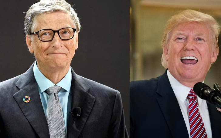 Bill Gates' Perfect One Line Reply To Donald Trump's Job Offer