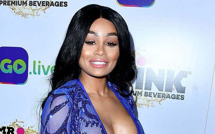 Blac Chyna Gets Into Brawl At Six Flags Amusement Park