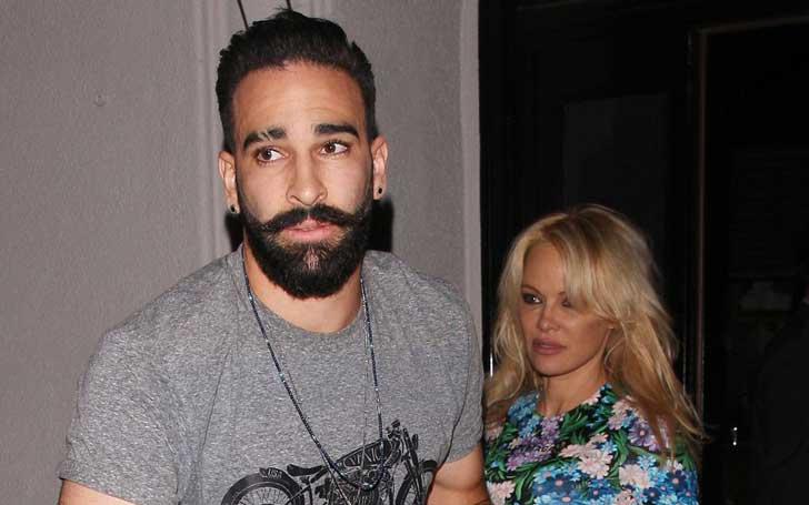Canadian-American Actress Pamela Anderson And French Footballer Adil Rami Break Up